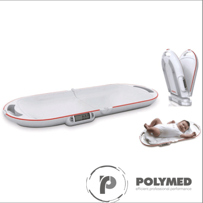 Cantar digital portabil, pliabil, pentru bebelusi - Polymed