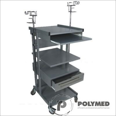 Troliu suport tastatura si priza electrica R3 - Polymed