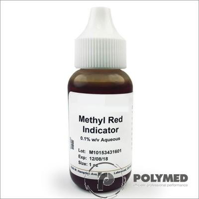 Rosu de metil, solutie 0.1% alcoolica - Polymed