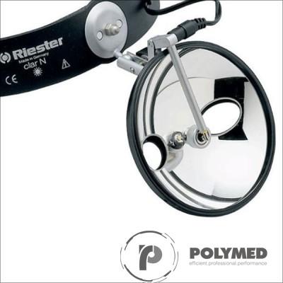 Lampa Riester Clar-N cu oglinda, 100 mm - Polymed