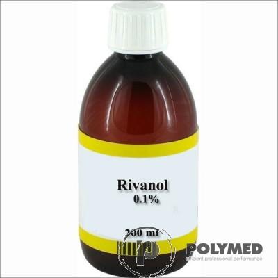 Soluție dezinfectantă Rivanol 0.1%, 200 ml