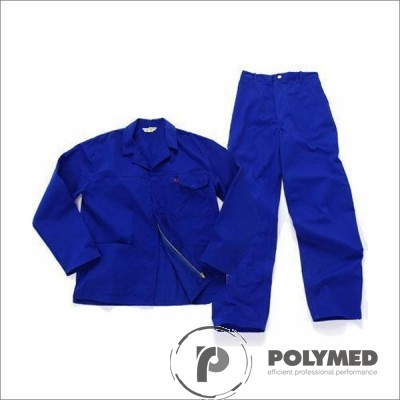 Costum salopeta, albastru royal, S-XL