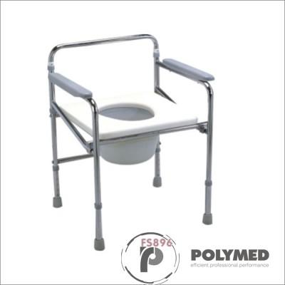 Scaun de toaleta fix, fara spatar FS896