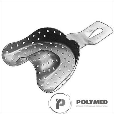 Lingura inox pentru material de impresie, superior, - Polymed
