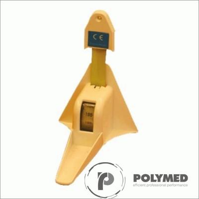 Taliometru de perete - Polymed