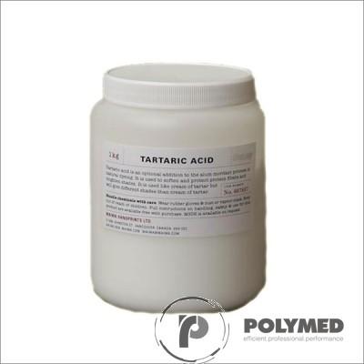 Acid tartric, 1 kg - Polymed