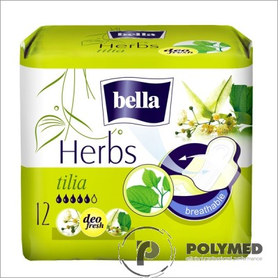 Absorbante igienice Bella Herbs Floare de Tei - Polymed