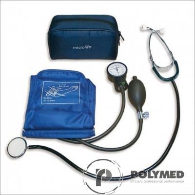 Tensiometru aneroid cu stetoscop AG1-20 Microlife - Polymed
