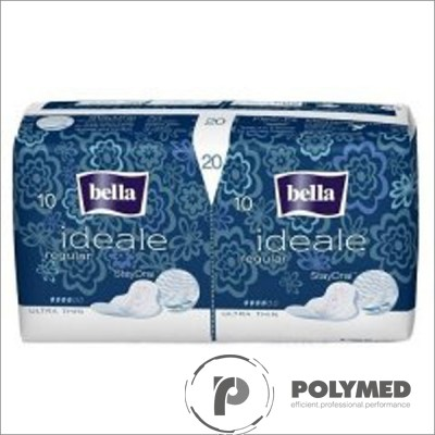 Absorbante igienice subtiri Ideale Ultra Regular 20 - Polymed