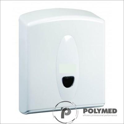 Dispenser plastic prosoape hartie pliate in Z si V