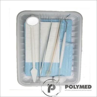 Trusa stomatologica de consultatie, sterila, tip 1, completă